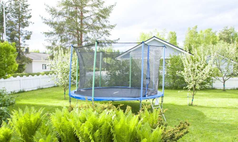 How to Move a Trampoline without Taking It Apart Helpful Home Hacks